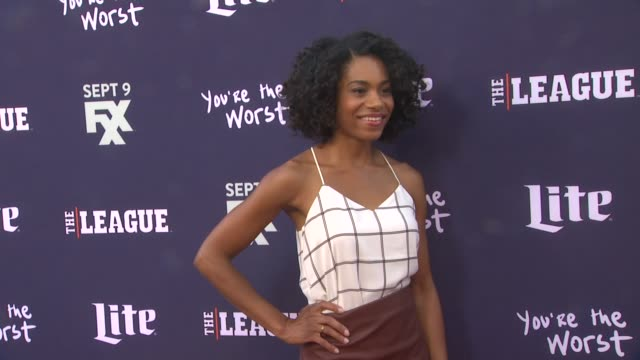Kelly McCreary at the Premiere of FXX's The League Final Season and You're The Worst 2nd Season at Regency Bruin Theater on September 08 2015 in...