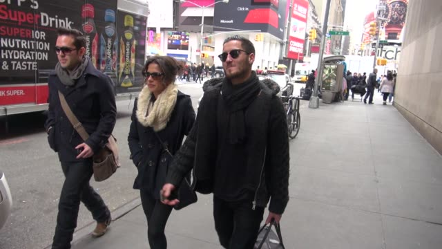 kelly monaco and valentin chmerkovskiy at the vh1 studios kelly monaco and valentin chmerkovskiy at the vh1 on november 30 2012 in new york new york - vh1 stock videos & royalty-free footage