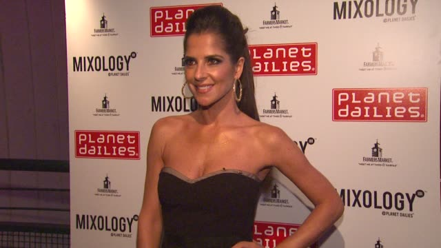 kelly monaco at joey fatone and kym johnson host after party for premiere of dancing with the stars at mixology 101 on 9/24/12 in los angeles ca - joey fatone stock videos & royalty-free footage