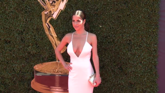 Kelly Monaco at the 44th Annual Daytime Emmy Awards at Pasadena Civic Auditorium on April 30 2017 in Pasadena California