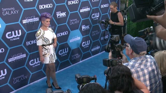kelly osbourne at 16th annual young hollywood awards at the wiltern on july 27 2014 in los angeles california - kelly osbourne stock videos and b-roll footage
