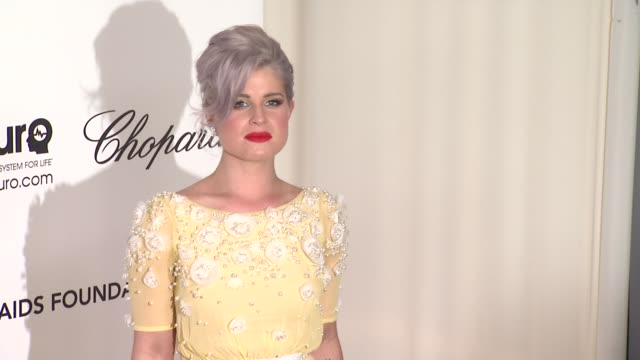 kelly osbourne at elton john aids foundation celebrates 20th annual academy awards viewing party on 2/26/12 in hollywood ca - kelly osbourne stock videos and b-roll footage