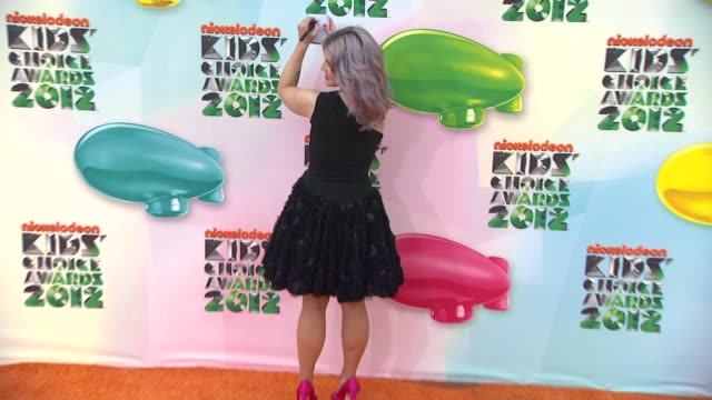 Kelly Osbourne at Nickelodeon's 25th Annual Kids' Choice Awards on 3/31/2012 in Los Angeles CA