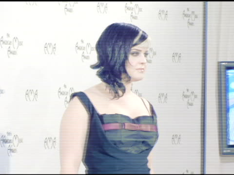 kelly osbourne at the 2004 american music awards press room at the shrine auditorium in los angeles california on november 14 2004 - kelly osbourne stock videos and b-roll footage