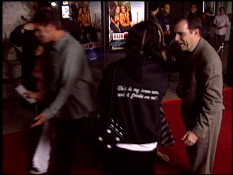 kelly osbourne at the 'eurotrip' premiere at grauman's chinese theatre in hollywood california on february 17 2004 - kelly osbourne stock videos and b-roll footage
