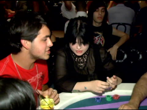 kelly osbourne at the lg at stuff style awards at the roosevelt hotel in hollywood california on september 7 2005 - kelly osbourne stock videos and b-roll footage