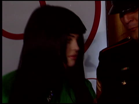 kelly osbourne at the motorola party at music box theatre in los angeles california on december 2 2004 - kelly osbourne stock videos and b-roll footage