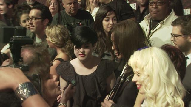 kelly osbourne at the spike tv's scream 2008 at los angeles ca. - scream named work stock-videos und b-roll-filmmaterial