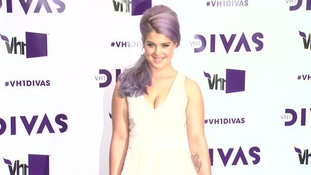 kelly osbourne at vh1 divas 2012 on in los angeles ca - vh1 divas stock videos and b-roll footage