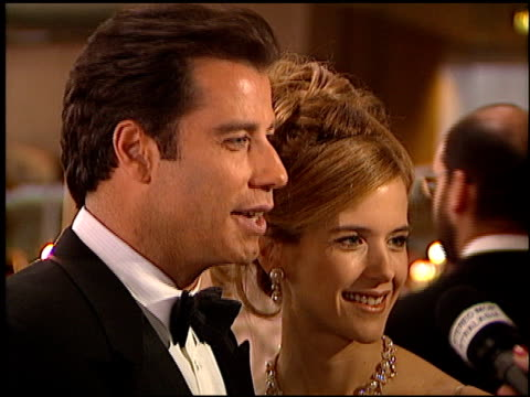 Kelly Preston at the 1996 Golden Globe Awards at the Beverly Hilton in Beverly Hills California on January 21 1996