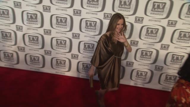 Kelly Preston at the 9th Annual TV Land Awards Arrivals at New York NY