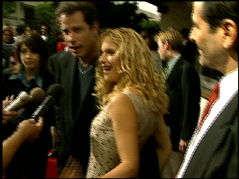 kelly preston at the 'addicted to love' premiere at the mann festival theater in westwood california on may 12 1997 - kelly preston stock-videos und b-roll-filmmaterial