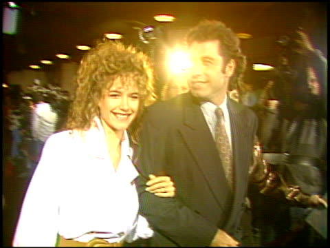 kelly preston at the 'hudson hawk' premiere on may 20 1991 - kelly preston stock-videos und b-roll-filmmaterial