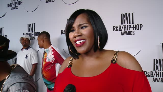 INTERVIEW Kelly Price on Nile Rodgers on her songwriting process and on BMI at the 2015 BMI RB/HipHop Awards at Saban Theatre on August 28 2015 in...