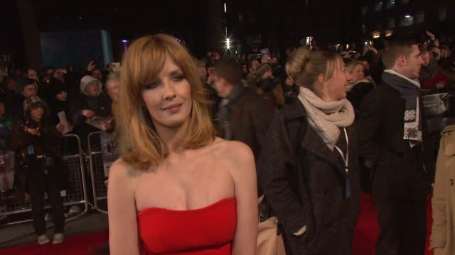 interview kelly reilly on working with robert zemeckis the audiences reaction and working with denzel at the flight premiere the empire leicester... - robert zemeckis stock videos and b-roll footage