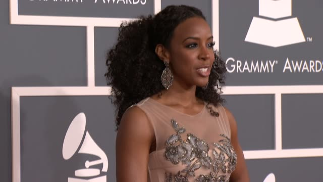 Kelly Rowland at 54th Annual GRAMMY Awards Arrivals on 2/12/12 in Los Angeles CA