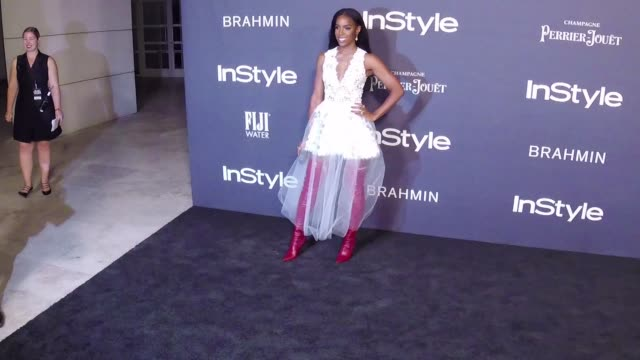 kelly rowland at the 3rd annual instyle awards on october 23 2017 in los angeles california - 2017 stock-videos und b-roll-filmmaterial