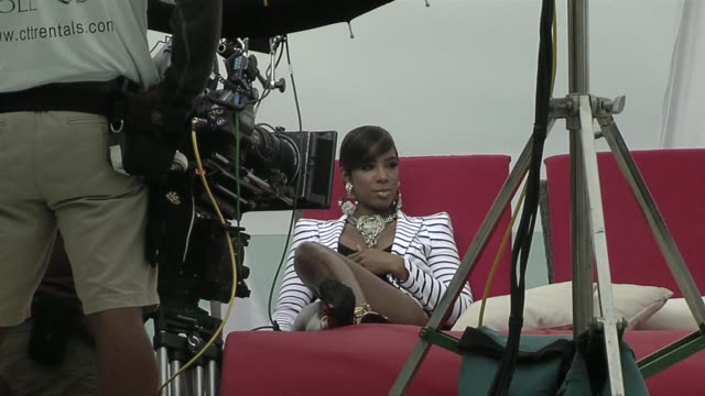 stockvideo's en b-roll-footage met kelly rowland at the nelly video shoot in cancun, mexico at cancun . - kelly rowland