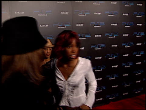 stockvideo's en b-roll-footage met kelly rowland at the playstation 2 grammy awards party at pacific design center in west hollywood, california on february 25, 2002. - kelly rowland
