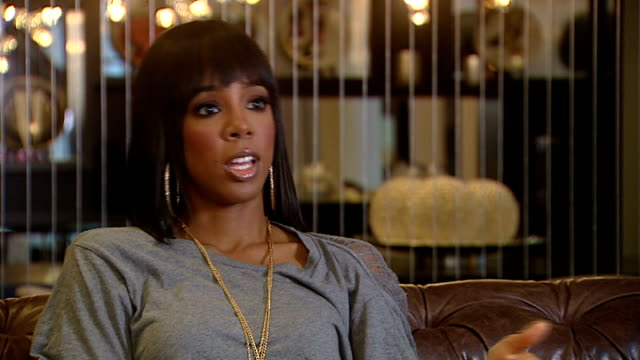 kelly rowland interview / reaction to frankie cocozza leaving x factor; kelly rowland interview sot - the hot new video for lay it on me, recalls... - destiny's child stock videos & royalty-free footage