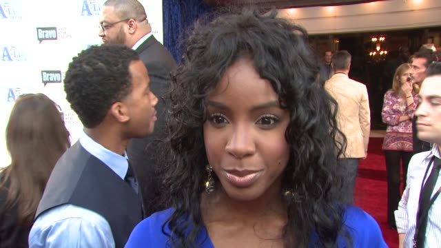 stockvideo's en b-roll-footage met kelly rowland on the event, her new reality series, 'the fashion show'. at the bravo's a-list awards at los angeles ca. - kelly rowland