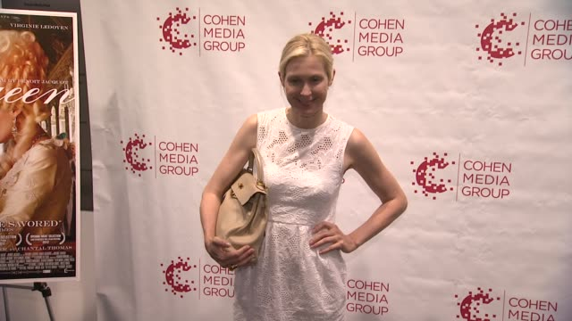 kelly rutherford at ny special screening of farewell my queen at moma on july 09 2012 in new york new york - kelly rutherford stock videos & royalty-free footage