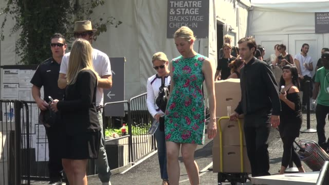kelly rutherford at spring 2014 mercedesbenz fashion week in new york ny on 9/11/13 - kelly rutherford stock videos & royalty-free footage