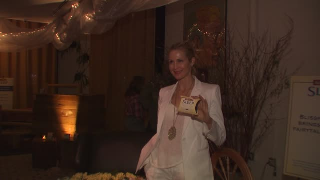 kelly rutherford at the launch event for naturemade sleep at west hollywood ca - kelly rutherford stock videos & royalty-free footage