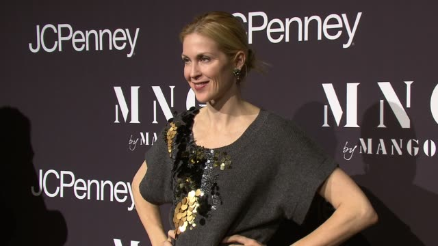 kelly rutherford at the launch of mng by mango at jcpenney at new york ny - kelly rutherford stock videos & royalty-free footage