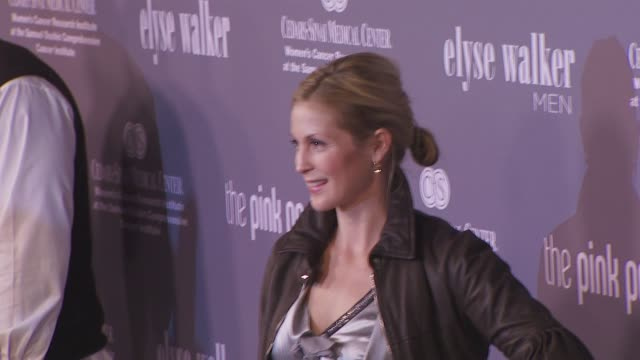 kelly rutherford at the pink party 2008 at santa monica ca - kelly rutherford stock videos & royalty-free footage