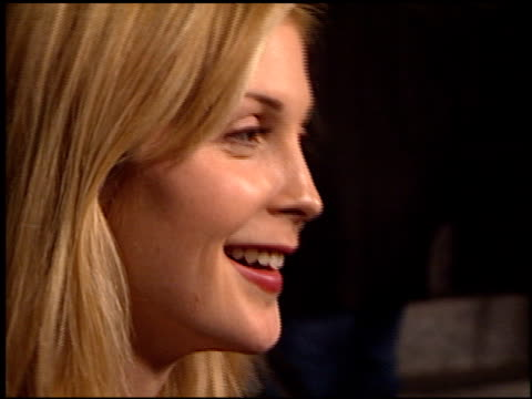 Kelly Rutherford at the 'Scream 3' Premiere at Avco Cinema in Westwood California on February 3 2000