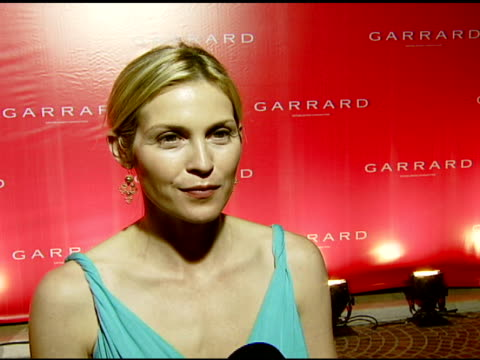 kelly rutherford on attending this event the item she has her eye on this evening and how jewelry makes her feel at the garrard jewelers celebrates... - kelly rutherford stock videos & royalty-free footage