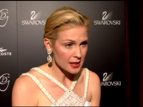 kelly rutherford on how she feels about costume designers and the importance of recognizing them for the work they do at the costume designer's... - kelly rutherford stock videos & royalty-free footage