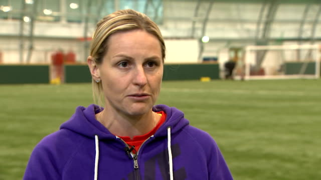 Kelly Smith retires from international football ENGLAND INT Kelly Smith interview SOT on her decision to retire