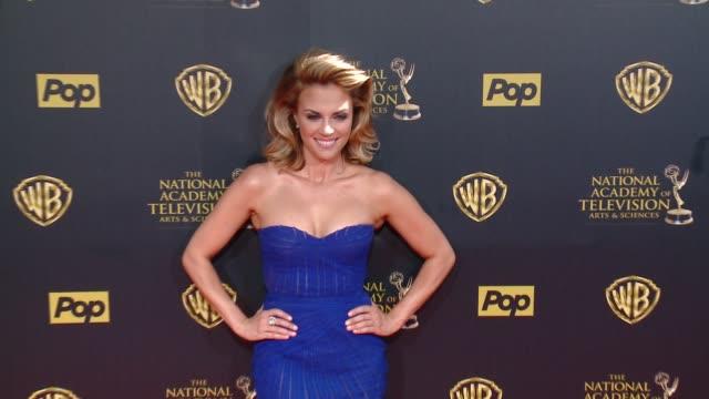 Kelly Sullivan at 42nd Annual Daytime EMMY Awards at Warner Bros Studios on April 26 2015 in Burbank California