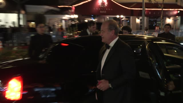 kelsey grammer and kayte walsh at the 2014 vanity fair oscar party hosted by graydon carter - arrivals on march 02, 2014 in west hollywood,... - oscar party stock videos & royalty-free footage