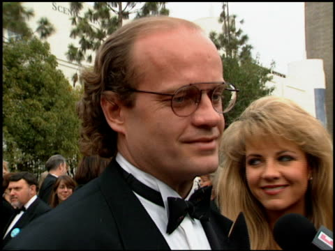 kelsey grammer at the 1994 people's choice awards at sony studios in culver city, california on march 8, 1994. - people's choice awards stock videos & royalty-free footage
