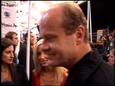 kelsey grammer at the my vh1 music awards at the shrine auditorium in los angeles, california on december 2, 2001. - shrine auditorium stock videos & royalty-free footage