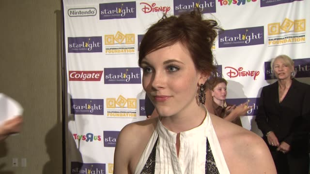 Kelsey Sanders on the event being a StarPower Ambassador at the Starlight Children's Foundation's Annual 'A Stellar Night' Gala at Los Angeles CA