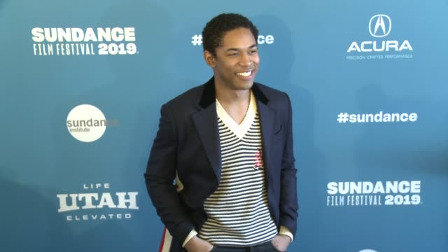 kelvin harrison jr at 'luce' premiere 2019 sundance film festival at library center theater on january 27 2019 in park city utah - luce stock videos & royalty-free footage