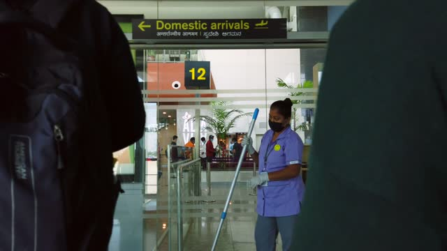 kempegowda international airport is an international airport serving bangalore, the capital of the indian state of karnataka. it serves as a hub for... - global stock videos & royalty-free footage