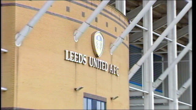 ken bates buys back leeds united; date unnown yorkshire: leeds: general view elland road tx 25.3.2004 int bates sitting with other businessmen - leeds stock videos & royalty-free footage