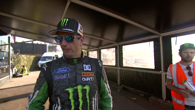 Ken Block on his involvement with the game wanting to play the finished article and Gymkhana at the DiRT 3 Launch at London England