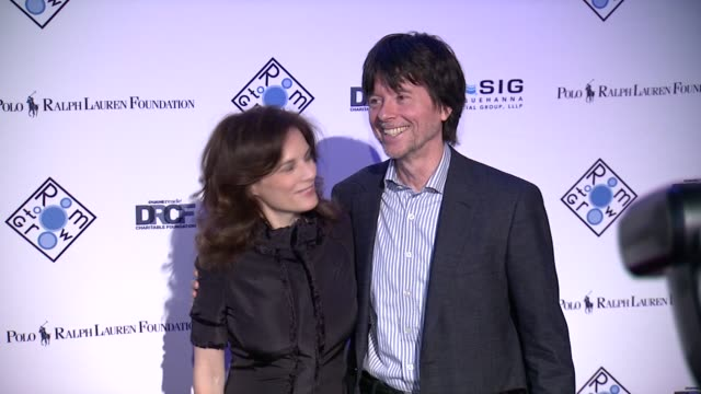 Ken Burns and Julie Burns at 2014 Room To Grow Spring Gala at Capitale on April 8 2014 in New York City