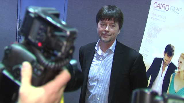 ken burns at the 'cairo time' new york screening at new york ny - ken burns stock videos and b-roll footage