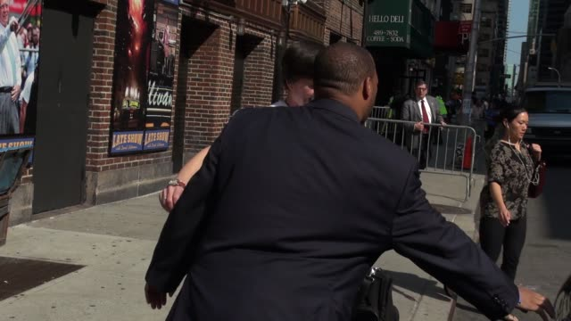ken burns leaving the late show with david letterman at celebrity sightings in new york 82014 - ken burns stock videos and b-roll footage