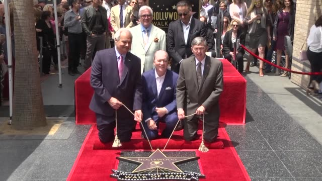 Ken Corday producer of famed television soap opera Days of Our Lives receives a star on the Hollywood Walk of Fame