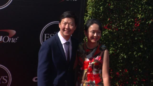 ken jeong at the 2015 espys at microsoft theater on july 15 2015 in los angeles california - microsoft theater los angeles stock videos and b-roll footage