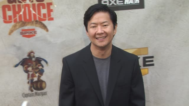 ken jeong at the spike tv's 4th annual 'guys choice awards' at los angeles ca - spike guys choice awards video stock e b–roll