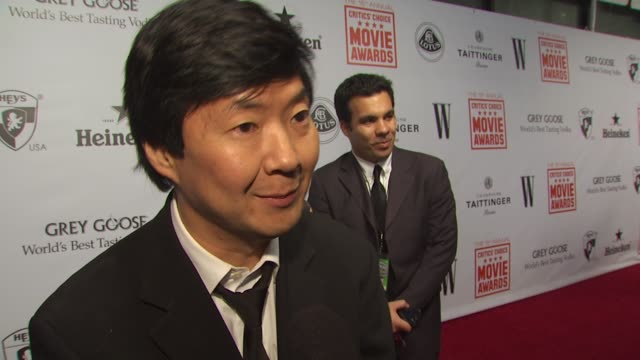 Ken Jeong on 'The Hangover' win and if he pays attention to the reviews at the 15th Annual Critics' Choice Movie Awards AfterParty at Hollywood CA